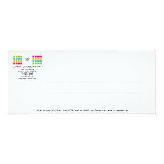 Modern Tiles Series No.12 Invitation Card