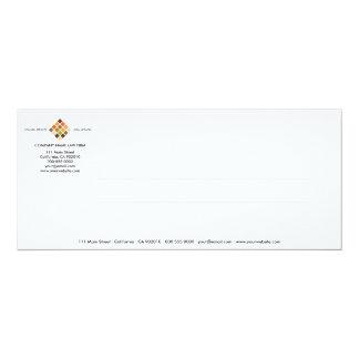 Modern Tiles Series No.14 Invitation Card