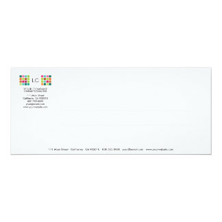 Modern Tiles Series No.22 Invitation Card