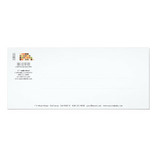 Modern Tiles Series No.6 Invitation Card