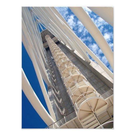 Modern tower photo print