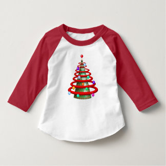 MODERN TREE CHRISTMAS CARTOON Toddler T-Shirt
