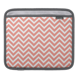 modern trend coral chevron sleeves for iPads