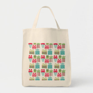 modern trends christmas presents tote bag