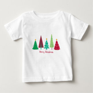 Modern trends Christmas Trees Baby T-Shirt