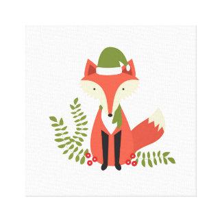 modern trends woodland christmas fox