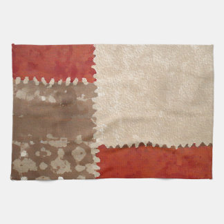 Modern Trendy Abstract Towel