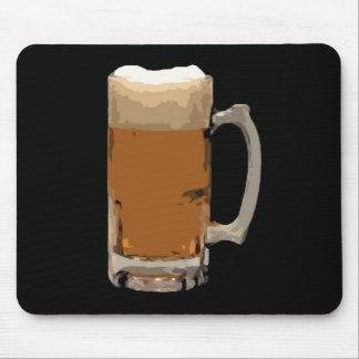 Modern Trendy Beer Mug Artwork Mousepad