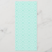 Modern Trendy Blue White Geometric Pattern