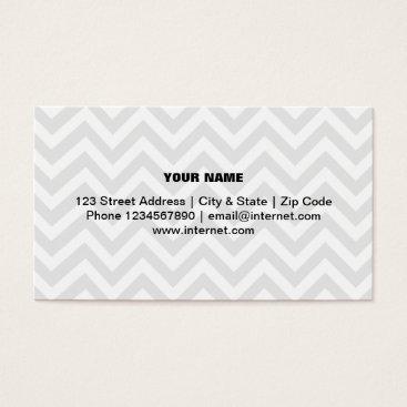 Professional Business Modern trendy chevron pattern business card design