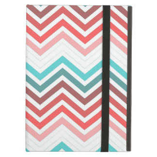 Modern, trendy, colorful chevron zigzag case for iPad air