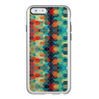 Modern Trendy Colorful Cubes Pattern Incipio Feather® Shine iPhone 6 Case