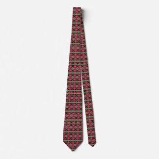 Modern trendy decorative pattern tie