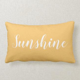 Modern trendy elegant minimalist typography pillow