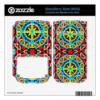 Modern trendy pattern BlackBerry skins