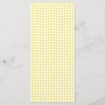 Modern Trendy Yellow Leaves Pattern