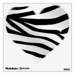 Modern Trendy Zebra Stripes Pattern Wall Decals