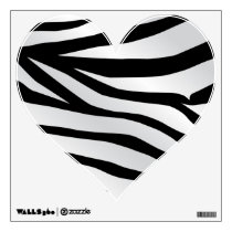 Modern Trendy Zebra Stripes Pattern Wall Sticker