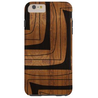 Modern Tribal African Zig Zag Design Tough iPhone 6 Plus Case