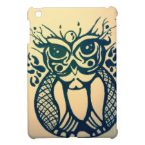 Modern Tribal Owl iPad Mini Cases