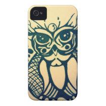 Modern Tribal Owl iPhone 4 Case