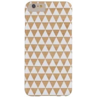 Modern tribal wood geometric chic andes pattern barely there iPhone 6 plus case