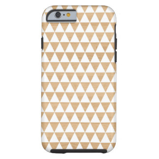 Modern tribal wood geometric chic andes pattern tough iPhone 6 case