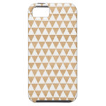 Modern tribal wood geometric chic andes pattern iPhone 5 case