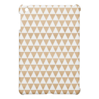 Modern tribal wood geometric chic andes pattern cover for the iPad mini