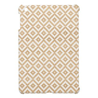 Modern tribal wood geometric chic andes pattern