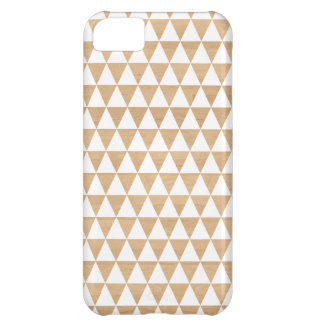 Modern tribal wood geometric chic andes pattern iPhone 5C cover