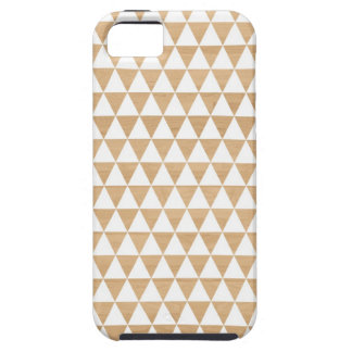 Modern tribal wood geometric chic andes pattern iPhone SE/5/5s case
