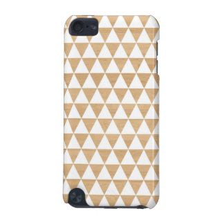 Modern tribal wood geometric chic andes pattern iPod touch (5th generation) cases