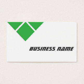 Modern Triple Green Dispatcher Business Card
