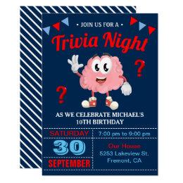 trivia night invitation