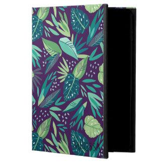 Modern Tropical Green Leafs Pattern Powis iPad Air 2 Case