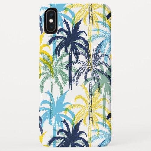 Modern Tropical Palm Tree Pattern Phone Case