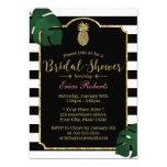 Modern Tropical Pineapple Hawaiian Bridal Shower Card