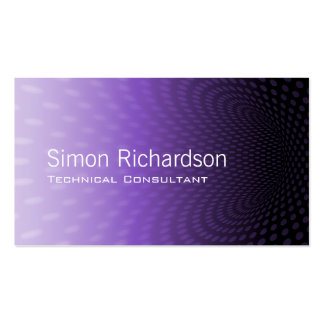 Modern Tunnel design Double-Sided Standard Business Cards (Pack Of 100)