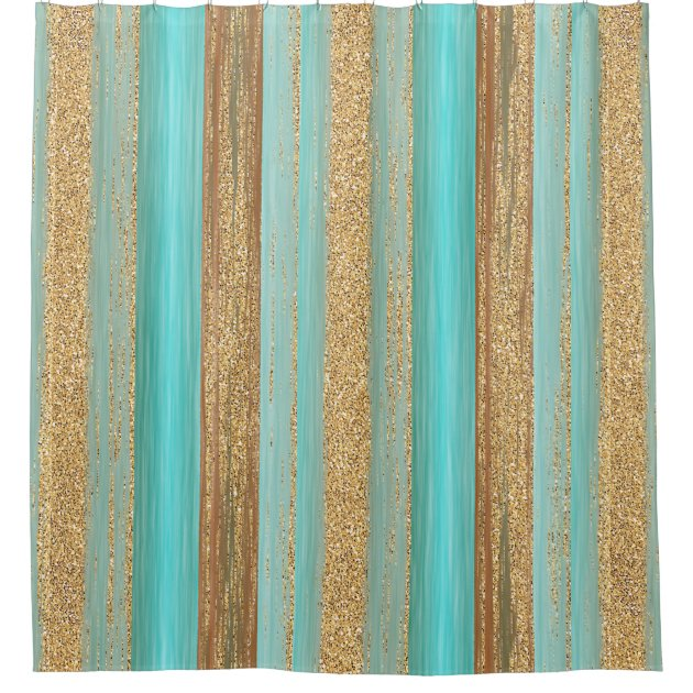 Image Result For Turquoise And Gold Curtains