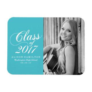 Modern Turquoise | Graduation Magnet