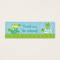 Modern Turtle Frog Goodie Bag Tags Gift Tags
