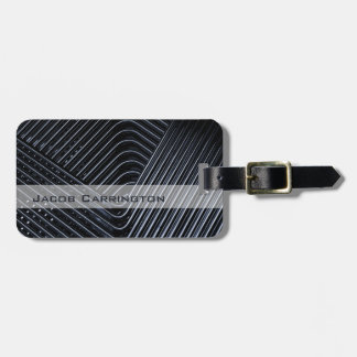 Modern Twisted Metal Tag For Luggage