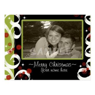 Modern Twisty Christmas... Post Cards