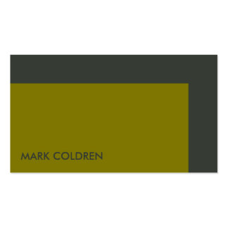 Modern Two Color 545 Business Card