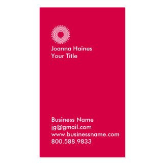 Modern Typographic Business Cards