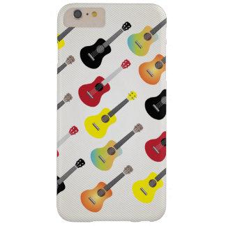 Modern Ukulele Pattern Musical iPhone 6 Plus Case