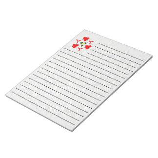 Modern unique pattern notepad