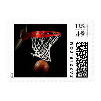 Modern Unique Trendy Basketball Postage