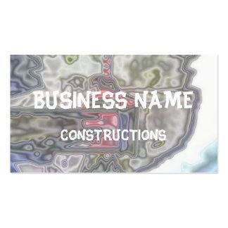 Modern unusual pattern business card